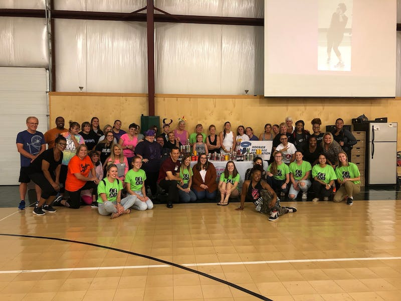 Cardinal Zumba is raising heart rates and money