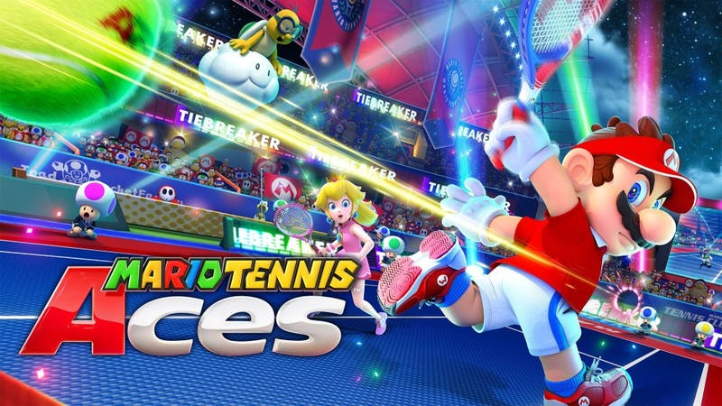 'Mario Tennis Aces' grazes the net