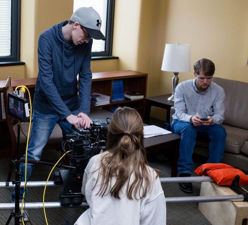 Immersive class allows students' work to air on WIPB-TV