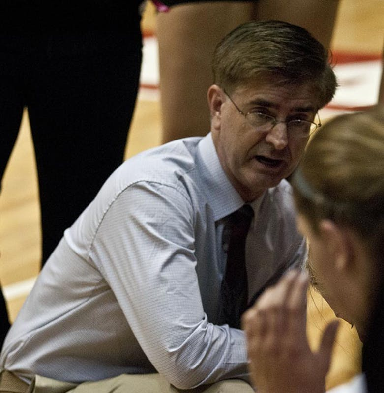 WOMEN'S VOLLEYBALL: Steve Shondell inducted to Burris Athletics Hall of Fame