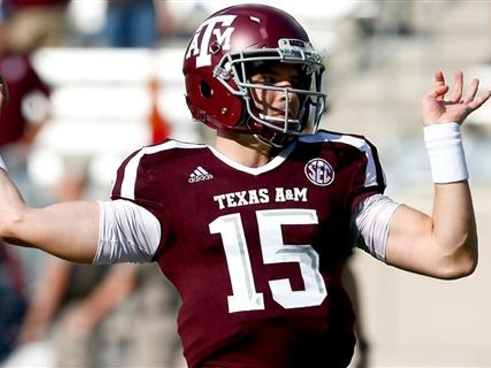 Sophomore quarterback Hank Hughes transferred from Texas A&M to pursue his dream of playing college football. Hughes is currently third on the depth chart. 247Sports, Photo Courtesy