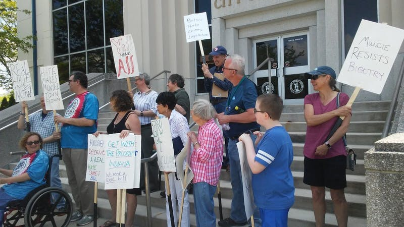 Muncie NAACP holds rally for amendments to hate crime bill