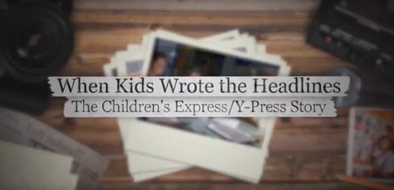 Documenting Docs: 'When Kids Wrote the Headlines'