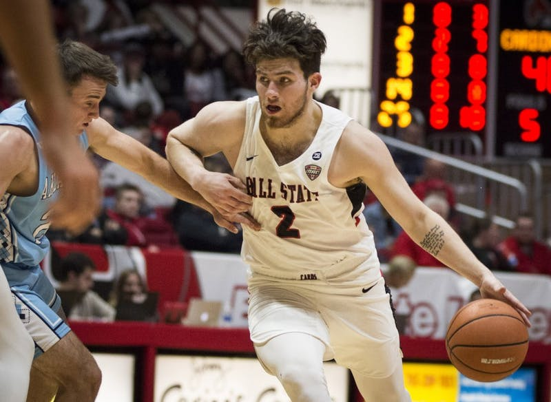 Ball State grinds out fifth straight win against Valparaiso