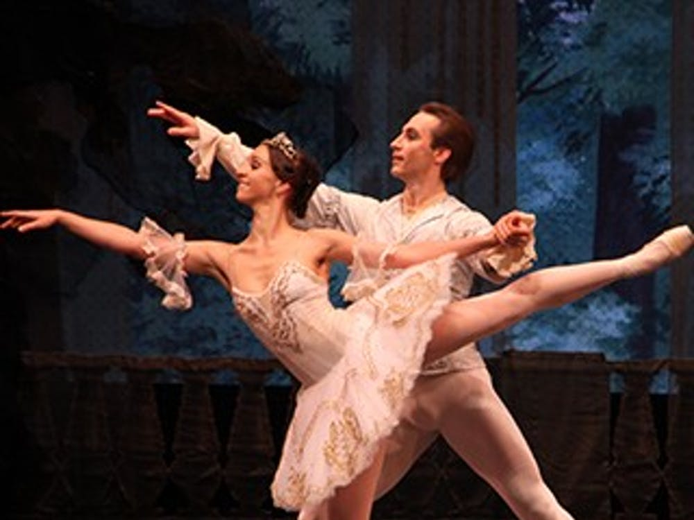 """The Moscow Ballet Festival will be performing """"Sleeping Beauty"""" at 7:30 p.m. today at John R. Emens Auditorium. Despite the story being adapted and recreated, the Moscow Ballet Festival company will be telling the original story. PHOTO COURTESY OF BALL STATE"""