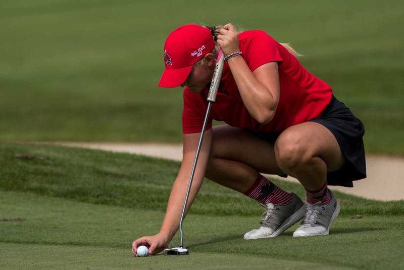 Ball State Women's Golf struggles to keep scores low at Fall MAC Preview.