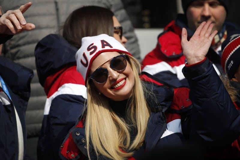 Ivanka Trump: Visit to Olympics 'so incredibly inspiring'