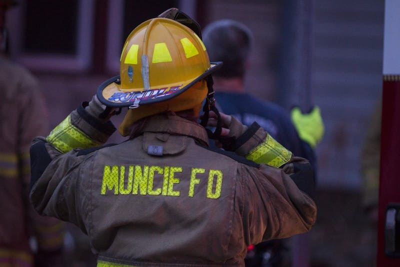 Muncie Fire Department responds to house fire on Carson Street