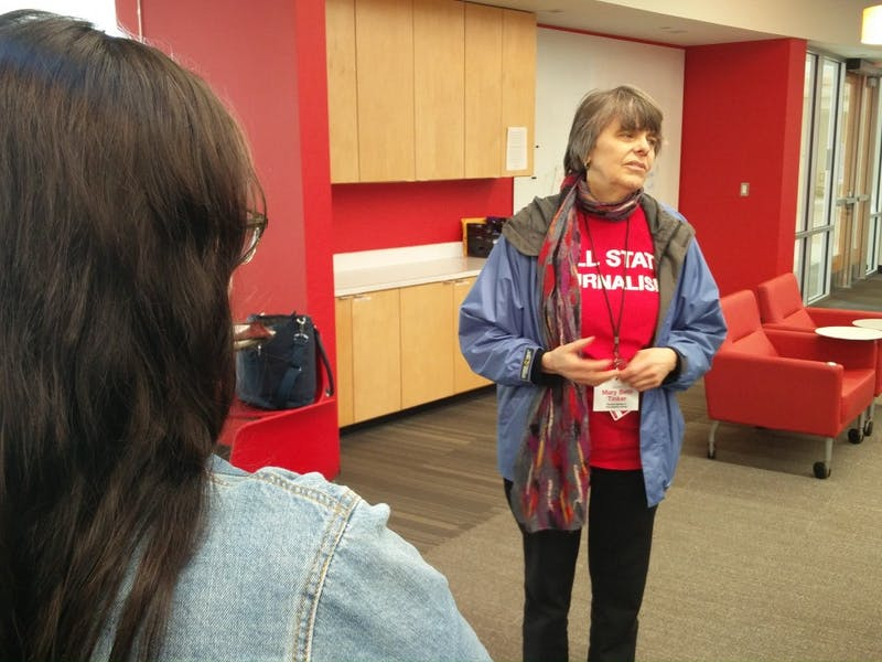 Mary Beth Tinker speaks about free speech, press at Ball State