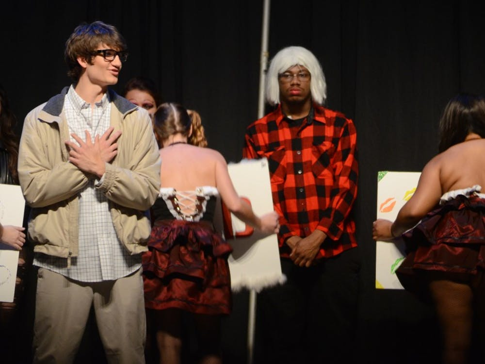 The Rocky Horror Picture Showpremiered on Oct. 31at John R. Emens Auditorium.