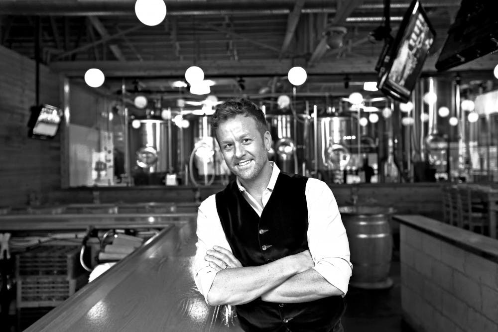<p>Scott Wise started his own restaurant, Scotty's Brewhouse, in Muncie at 22 years old. Wise focused the restaurant around what he would eat and would want to see in a restaurant. <strong>Jim Moy Photography, Photo Provided</strong></p>