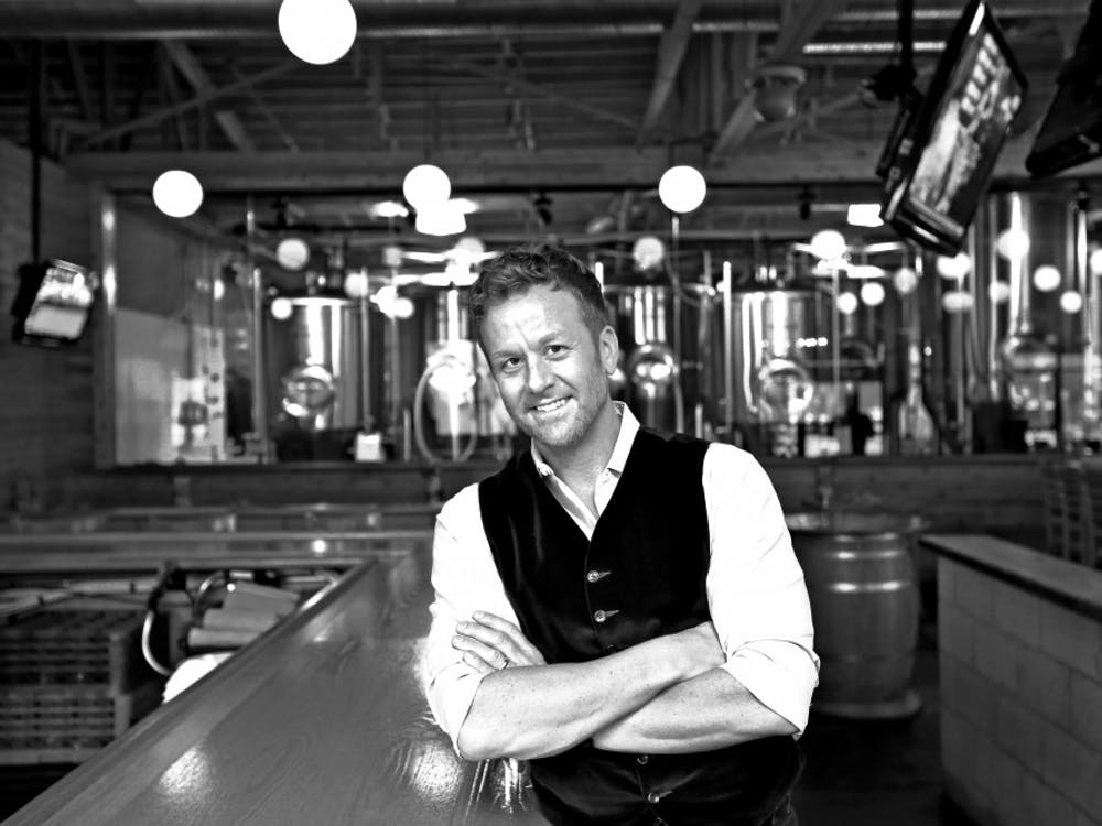 Scott Wise started his own restaurant, Scotty's Brewhouse, in Muncie at 22 years old. Wise focused the restaurant around what he would eat and would want to see in a restaurant. Jim Moy Photography, Photo Provided