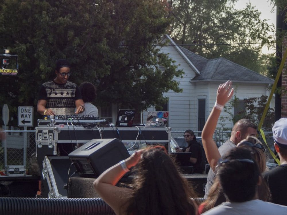 The first-ever ChirpFest attracted about 3,500 people to North Dill Street on Sept. 19 for the electronic dance music festival. The festival brought eight musicians and DJs from Muncie and Fort Wayne to perform. Read our news coverage here.