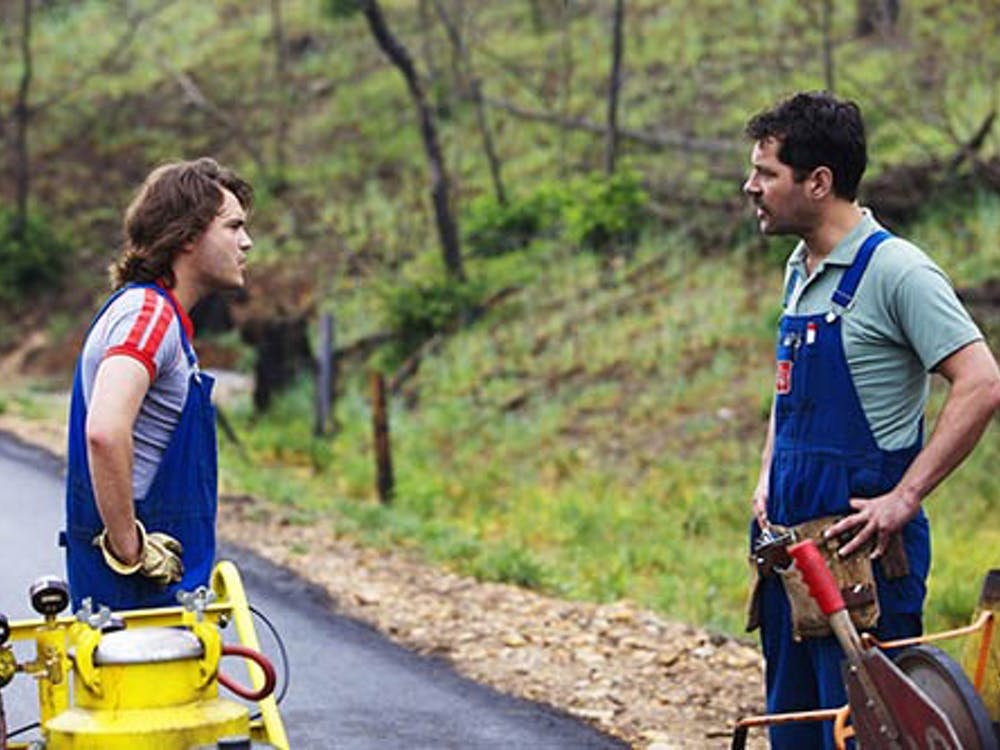 """Emile Hirsch and Paul Rudd in """"Price Avalanche,"""" a Magnolia Pictures release. PHOTO PROVIDED BY MAGNOLIA PICTURES"""