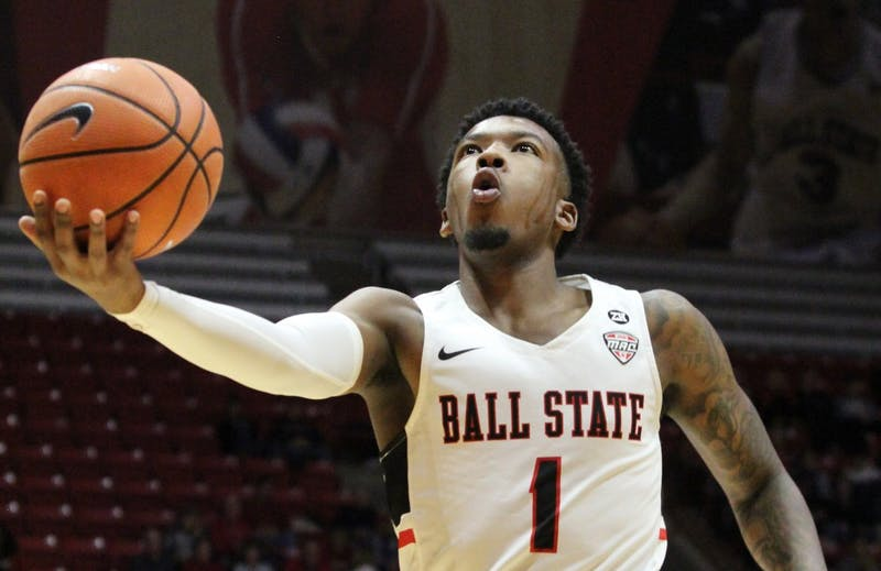 Ball State men's basketball player preliminarily charged with domestic battery early Saturday