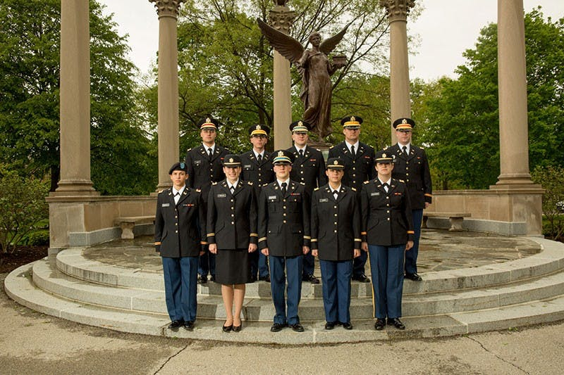 ROTC celebrates 40 years on campus