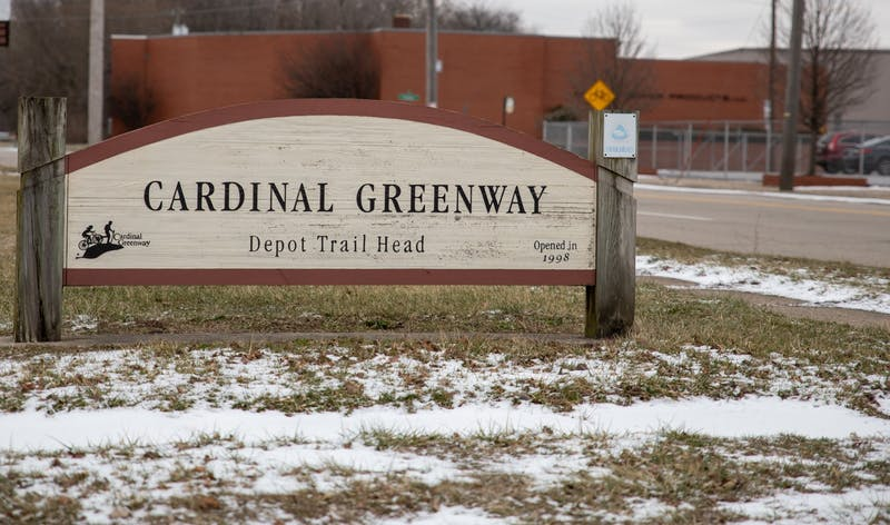 The Cardinal Greenway is the longest trail in Indiana Jan. 21, 2020, in Muncie, Ind. The trail runs 62 miles. Jacob Musselman, DN