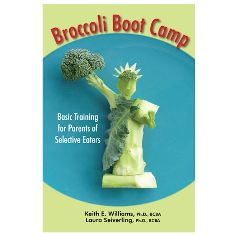 Keith Williams and Laura Seiverling partnered to write Broccoli Boot Camp. The book is a guide for parents with kids who are picky eaters. Laura Seiverling, Photo Provided