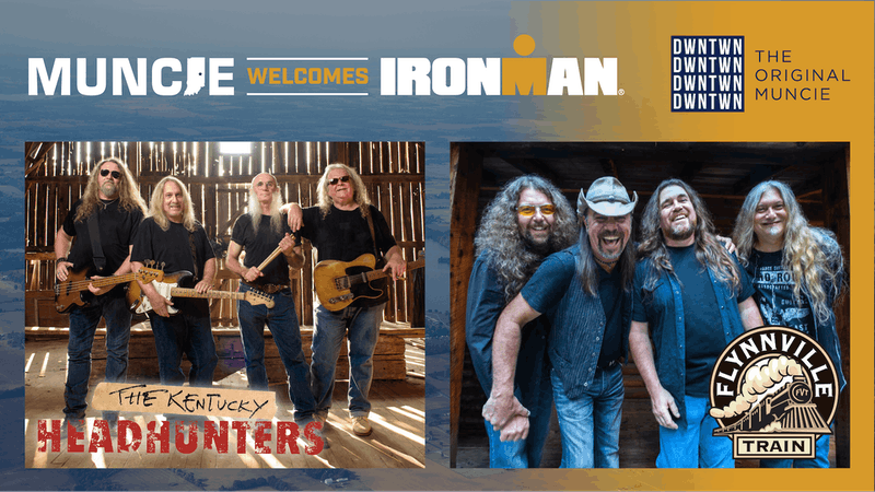 The Kentucky Headhunters and Flynnville Train Sept. 30 concert will kickoff Muncie's Ironman weekend. Other events include extended hours for local businesses, the Ball State vs. Army football game and a celebration the day after the race. Melissa Jones, Photo Provided