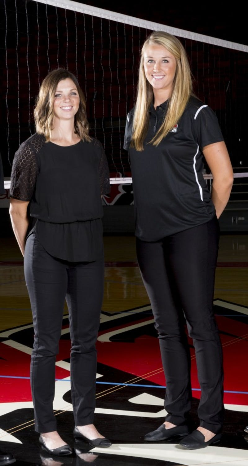 Women's volleyball new coaching staff shares past experience