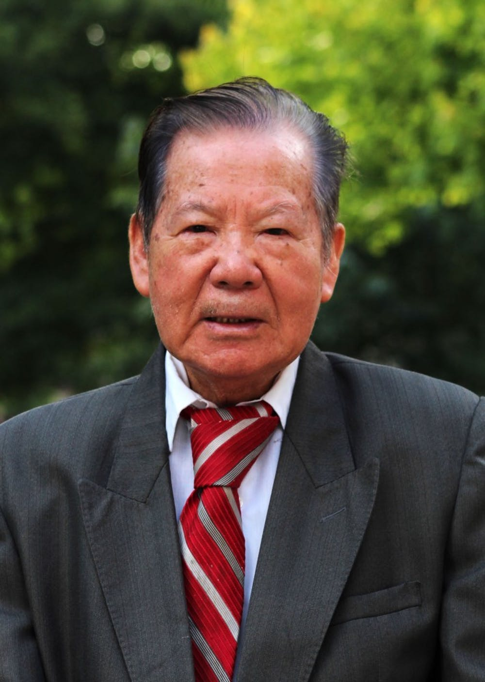 <p>Teh-Kuang Chang Thursday, Aug. 30, 2018 on Ball State University Campus. Chang is professor of Political Science at Ball State University and has been teaching for 53 years. <strong>Michaela Kelley, DN</strong></p>