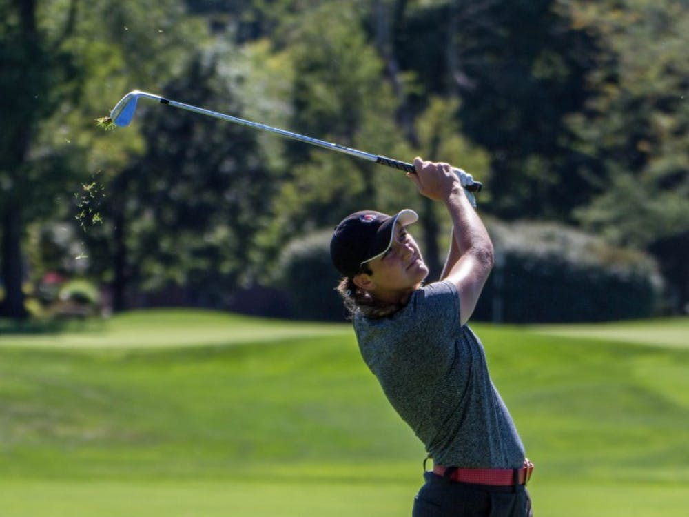Allison Lindley tied for 29th on the opening day of the Cardinal Classic at the Player's Club on Sept. 19. The Ball State women's golf team played its way into fourth place behind defending champion Eastern Kentucky and Toledo and Western Michigan in a tie for second. Grace Ramey // DN