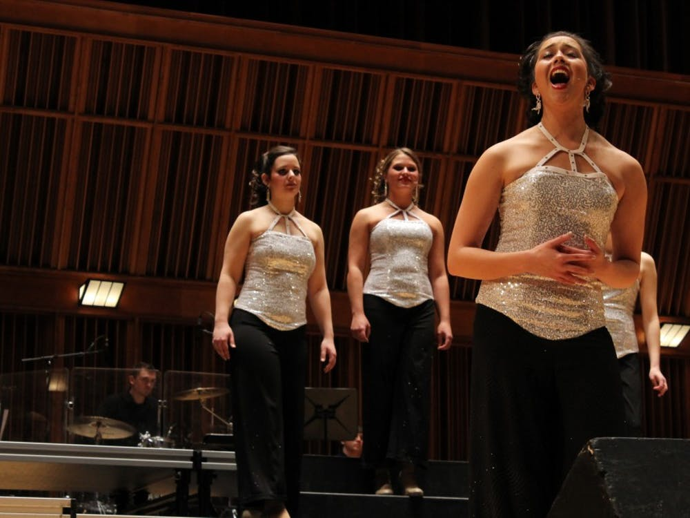 The Ball State University Singers performed their Spring Cabaret on Jan. 29 at Sursa Hall.