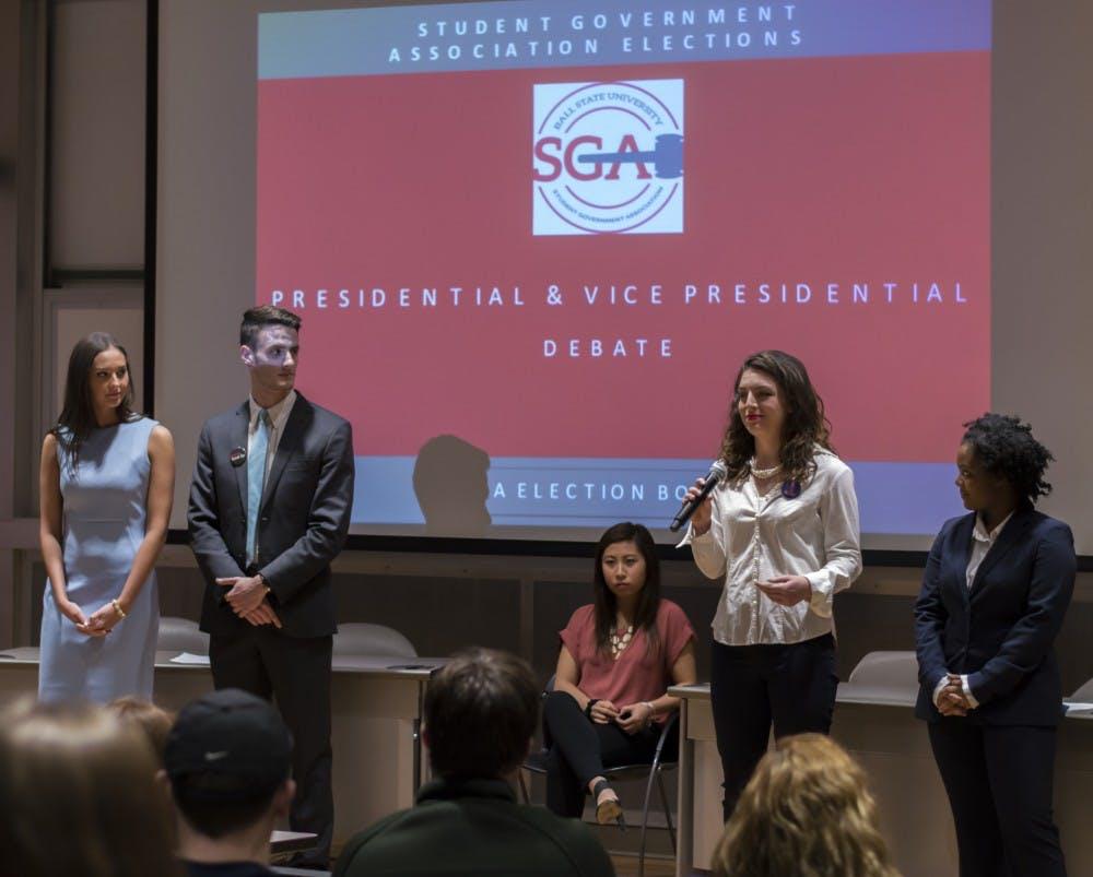 Meet the slate members running for 2017-18 SGA executive board