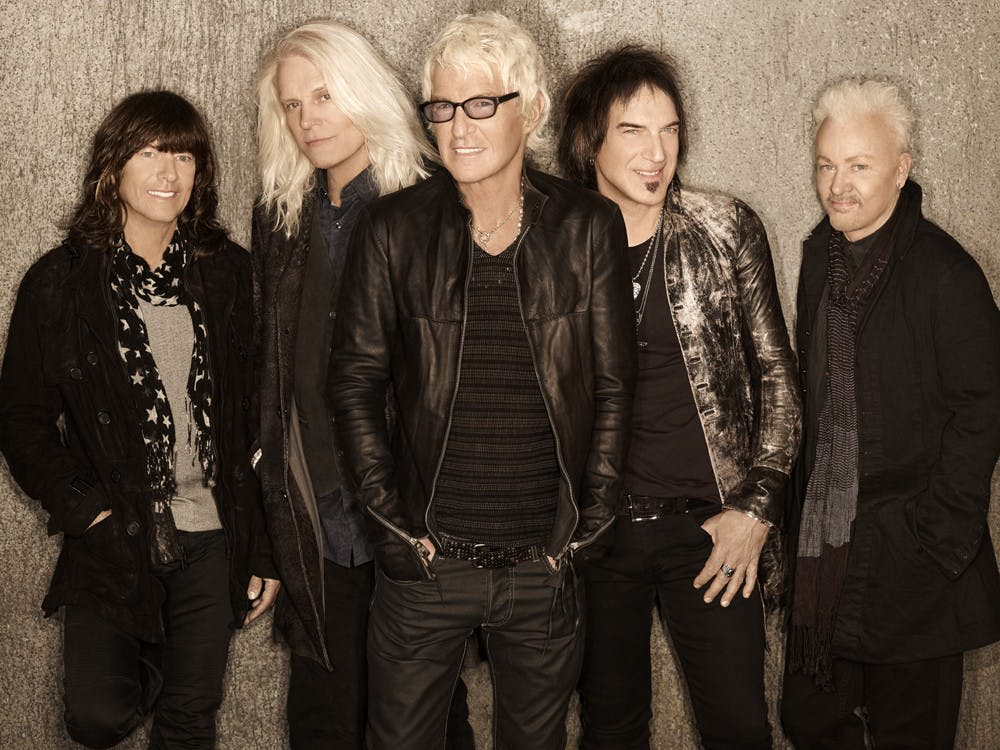 REO Speedwagon will perform Feb. 7 at John R. Emens Auditorium. The concert will be for victims of tornadoes that hit in November 2013. PHOTO PROVIDED BY JORDAN BISHOP OF BOHLSEN EVENT AND ENTERTAINMENT SERVICES