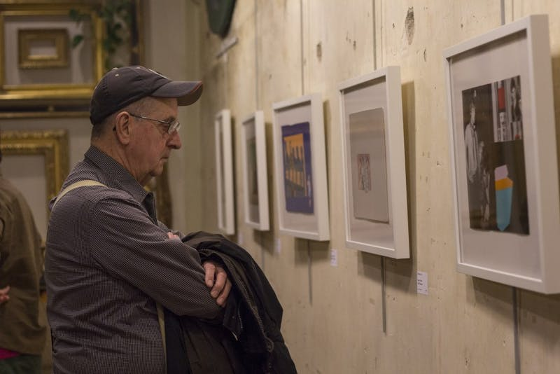 Alumni come together two decades after graduation for art show