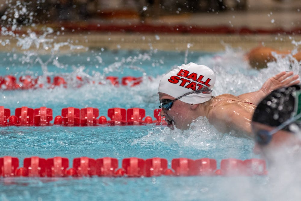 Ball State Swimming and Diving makes quick work of Eastern Illinois, Bowling Green
