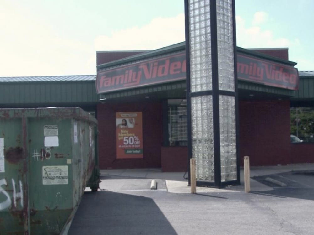 Family Video, located near Ball State, is closing it's doors due to being bought out by another store.