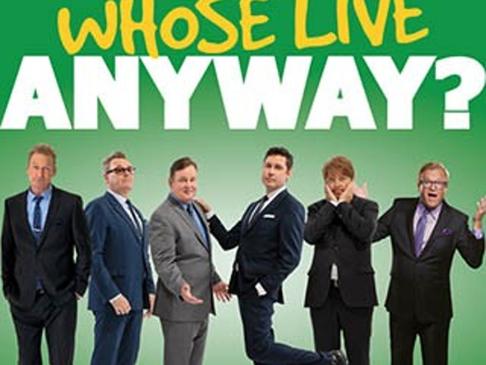 """""""Whose Live Anyway,"""" a live improv show based on the Emmy-nominated TV show """"Whose Line Is It Anyway"""" will be performing at Ball State. Special guests Dave Foley and Drew Carey will also be joining the show. Emens Auditorium, Photo Courtesy"""
