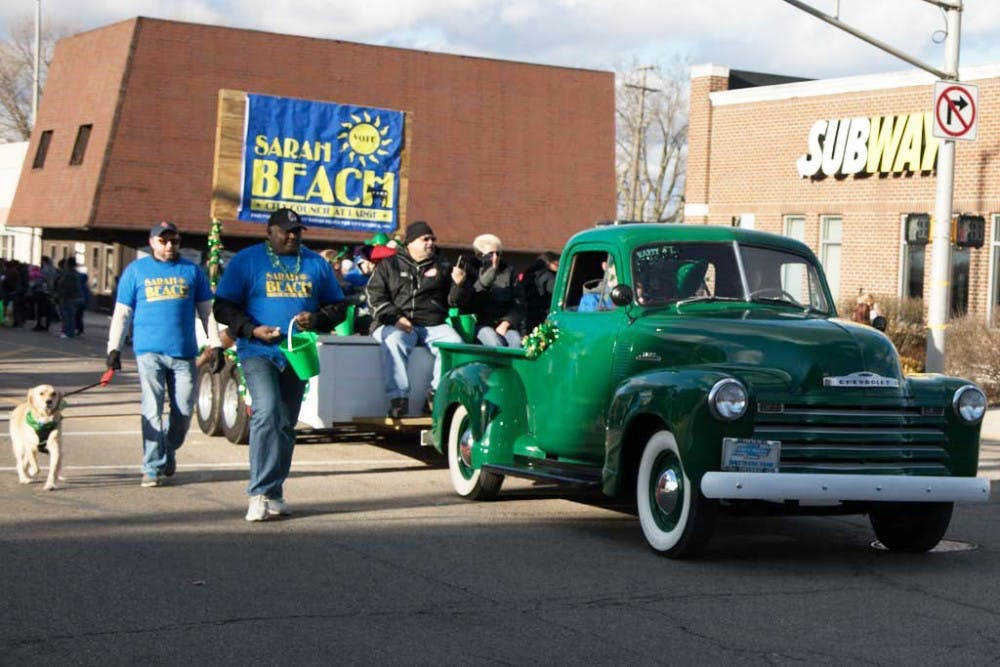 Muncie celebrates St. Patrick's Day with annual parade