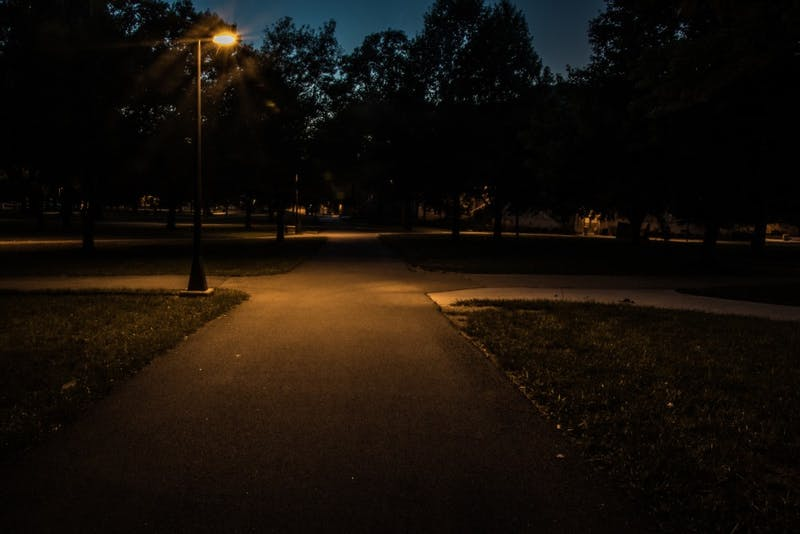 Faulty campus lights cause concern
