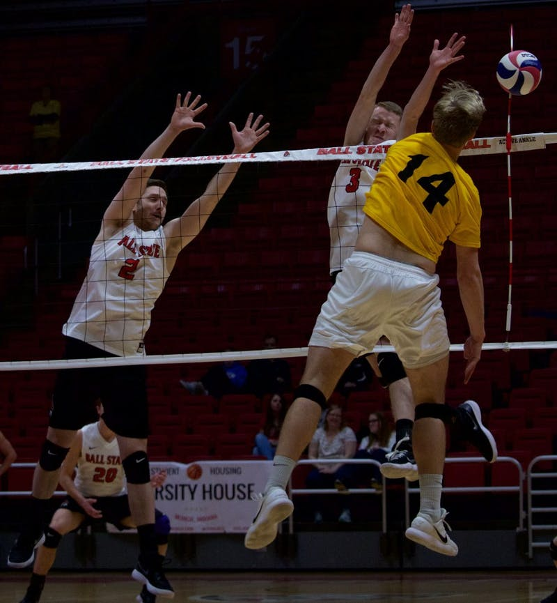 Strong defense leads No. 11 Ball State Men's Volleyball to victory over No. 13 George Mason