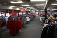 The new Cardinal Fanstore features merchandise in the old T.I.S. College Bookstore building Sept. 14. The Cardinal Fanstore specializes in selling Ball State-themed merchandise, making the Ball State Bookstore the only option for students to purchase books close to campus. Rylan Capper, DN