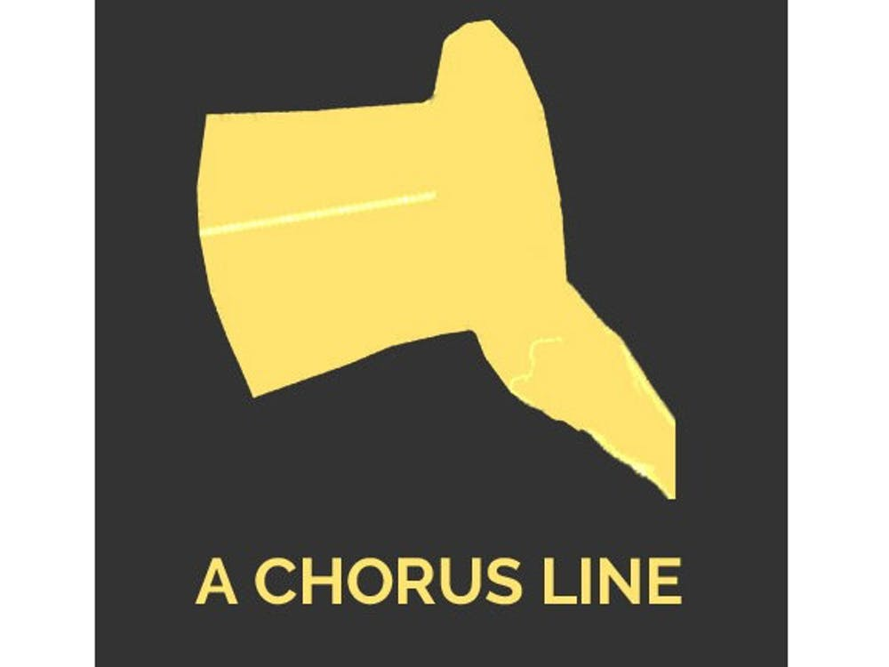 """The Department of Theatre and Dance will be performing it's upcoming production of the classic musical """"A Chorus Line."""" The musical was originally on Broadway in 1975 and tells the story of a high-stakes Broadway audition for 17 eager dancers. Ball State, Photo Courtesy"""