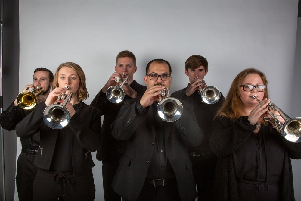 Ball State School of Music trumpet ensemble to attend national competition