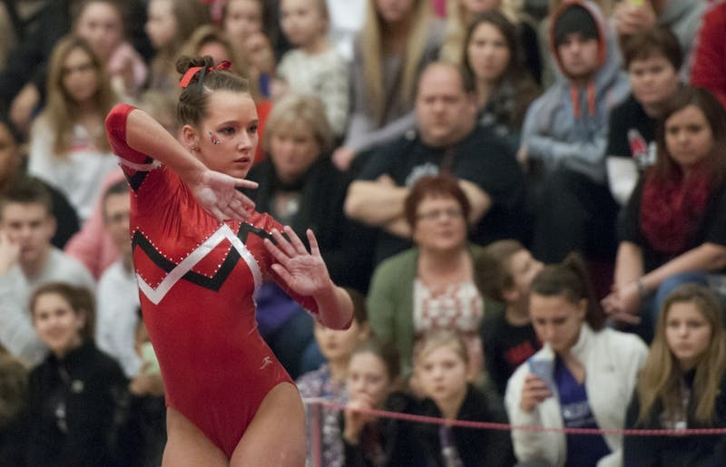 GYMNASTICS: Improvement showing for team