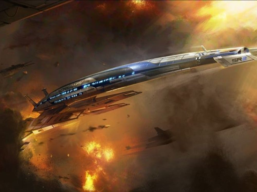 The Mass Effect ride will be located in Santa Clara in 2016