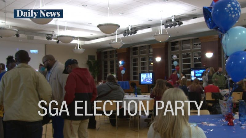 VIDEO: Campus groups come together for election night watch parties