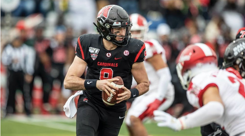 Ball State football player prepares for MAC Championship