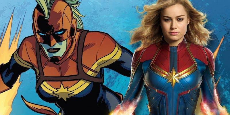 History of: Captain Marvel