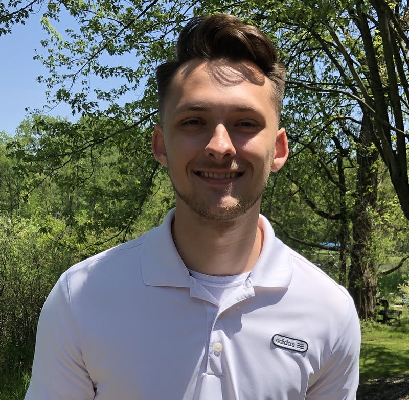 Tyler Hollis, junior actuarial science major, is spending his summer as intern working virtually for CNO Financial Group. Hollis is working with the company's health valuation team in their actuarial department. Tyler Hollis, Photo Provided
