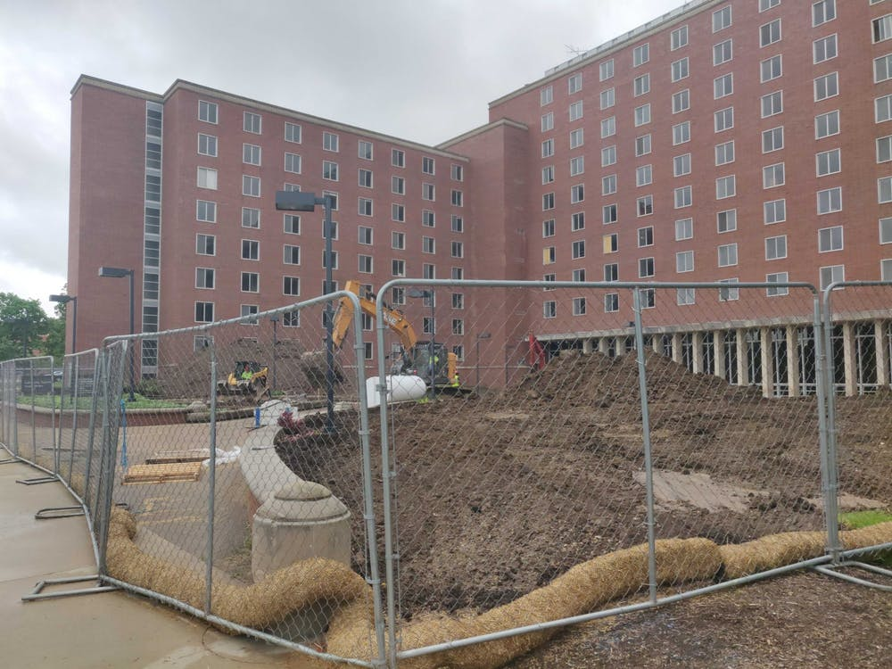 Work continues on LaFollette Complex demolition