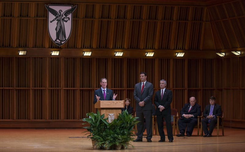 TRANSCRIPT: Read Ball State's new president's first speech to university