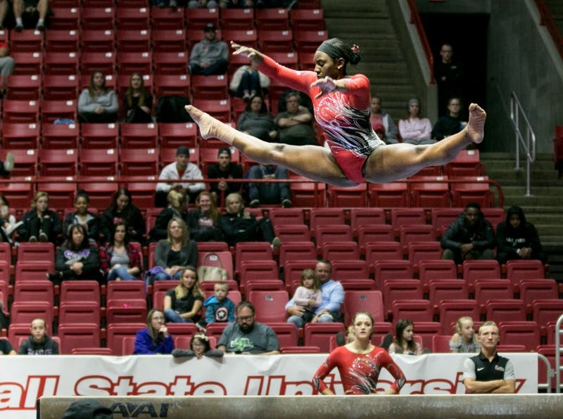 No. 17 Ball State gymnastics heads to D.C. for Lindsay Ferris Invitational