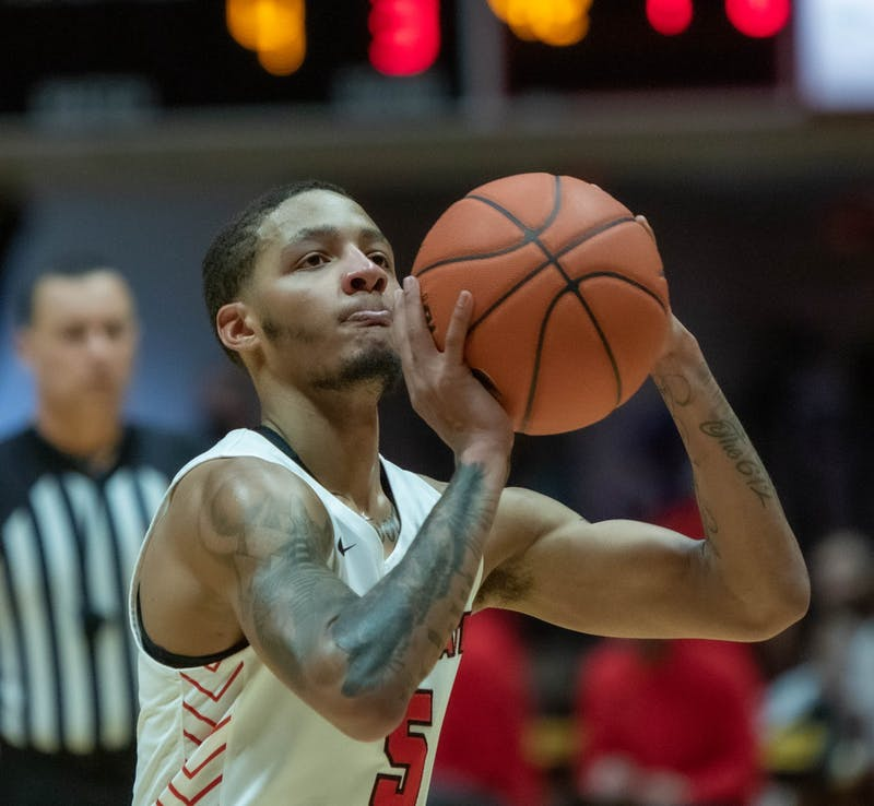 Ball State's Men's basketball loses 58-78 against the Buffalo Bulls