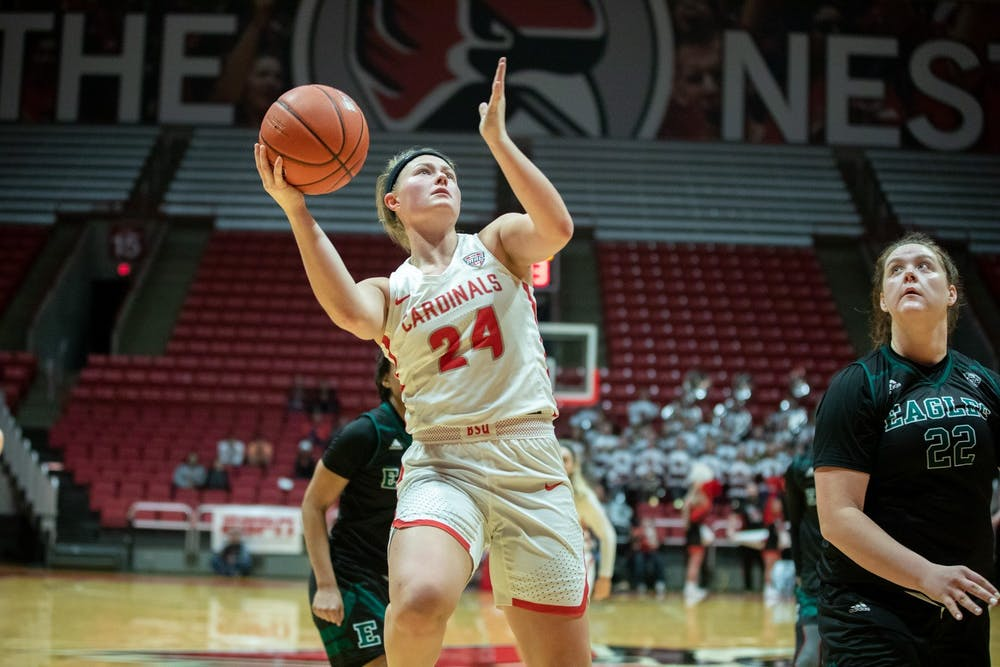 Veteran leadership, hustle from Samz is turning into success for Ball State